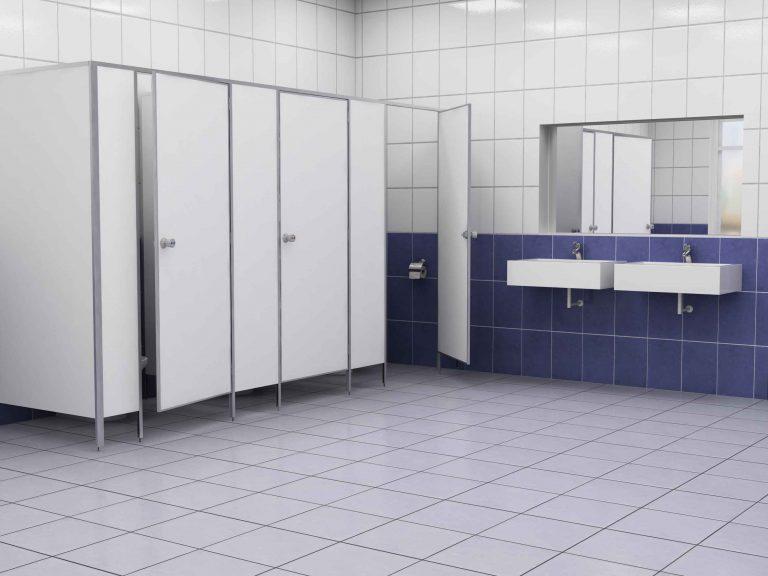 Гениальная идея современных дизайнеров – сантехнические перегородки
